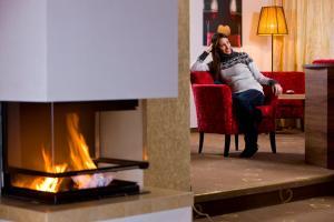 Alpen-Herz Romantik & Spa - Adults Only, Szállodák  Ladis - big - 79