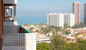 Leilighet med 2 soverom, balkong og havutsikt