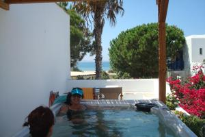 Alkyoni Beach Hotel, Hotely  Naxos Chora - big - 65