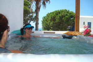 Alkyoni Beach Hotel, Hotely  Naxos Chora - big - 53