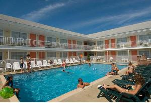 Blue Water Motel, Motelek  Wildwood Crest - big - 9