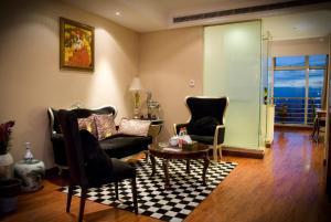 Chenlong Service Apartment - Yuanda building, Apartmánové hotely  Šanghaj - big - 58