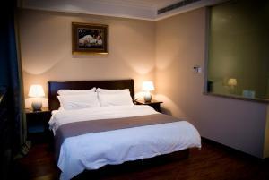 Chenlong Service Apartment - Yuanda building, Apartmánové hotely  Šanghaj - big - 53