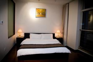 Chenlong Service Apartment - Yuanda building, Apartmánové hotely  Šanghaj - big - 54