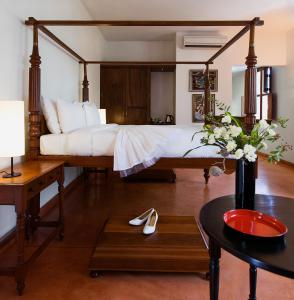 Villa Shanti - A Heritage Hotel, Hotels  Pondicherry - big - 8