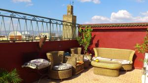 Ryad Bab Berdaine, Riads  Meknès - big - 85