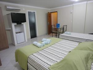Monte Serrat Hotel, Отели  Сантос - big - 41