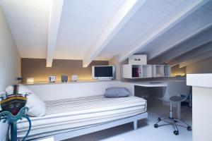 Residence Borgo Del Cigno, Apartmánové hotely  Spinone Al Lago - big - 15