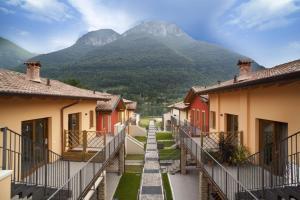 Residence Borgo Del Cigno, Apartmánové hotely  Spinone Al Lago - big - 21