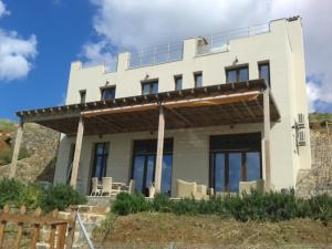 Beach Villa Pantheon, Vily  Pomos - big - 13