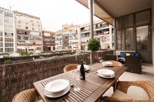 Three-Bedroom Apartment with Terrace