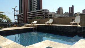 Flat Via Venetto Meirelles, Apartmanok  Fortaleza - big - 50