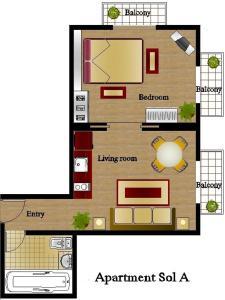 Foster Apartamentos Sol, Apartmanok  Madrid - big - 5