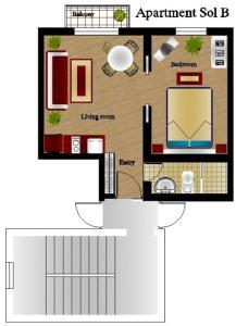 Foster Apartamentos Sol, Apartmanok  Madrid - big - 4
