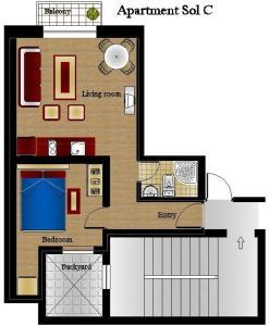 Foster Apartamentos Sol, Apartmanok  Madrid - big - 3