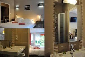 Hostellerie de la Vieille Ferme, Отели  Криэль-сюр-Мер - big - 5