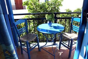 Katerina Roza Studios, Apartmánové hotely  Naxos Chora - big - 16