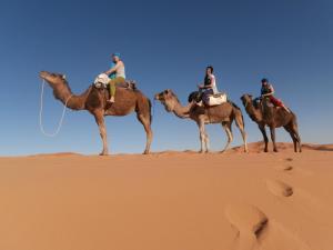 Marhaba Camp, Camel & Sandboarding, Luxury tents  Merzouga - big - 86