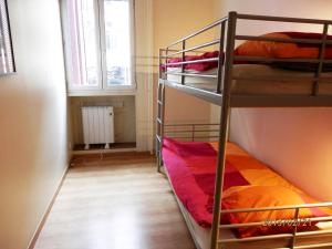 Bunk Bed Room and Shared Bathroom