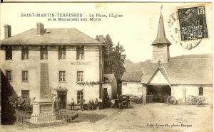 Auberge Saint Martin, Hotels  Saint-Martin-Terressus - big - 22