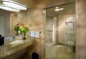 Queen Room with Roll in Shower - Non-Smoking