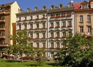 Hotel Salve, Апарт-отели  Карловы Вары - big - 34