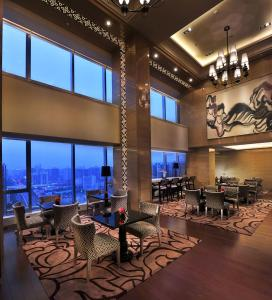 Rom Luxury med king-size-seng og tilgang til Executive Lounge