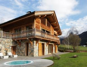 Chalet La Vigogne et Spa, Horské chaty  Le Grand-Bornand - big - 32