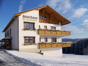 Gästehaus Rachelblick, Apartmány  Frauenau - big - 37