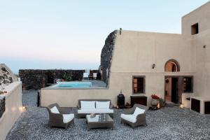 Santorini Heritage Villas, Vily  Megalokhori - big - 41