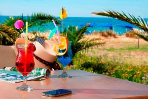 Marinos Beach Hotel-Apartments, Aparthotely  Platanes - big - 54