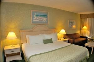 Zimmer mit Kingsize-Bett, Schlafsofa und Poolblick - Nichtraucher