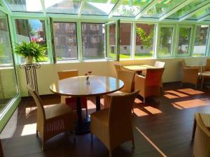 Hotel Ahorni, Отели  Обервальд - big - 19