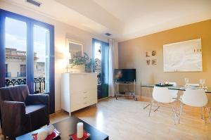 Friendly Rentals Deluxe Paseo de Gracia, Апартаменты  Барселона - big - 28