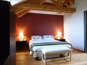 La Maison Forte, Bed & Breakfast  Montaut - big - 22