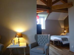 La Maison Forte, Bed & Breakfast  Montaut - big - 17