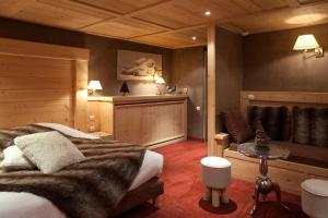 Hotel Les Mélèzes, Hotely  Les Deux Alpes - big - 14