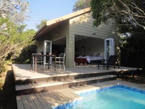 带私人泳池的小木屋 - 1