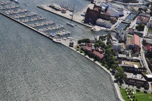 Hotel Hafenresidenz Stralsund, Szállodák  Stralsund - big - 35