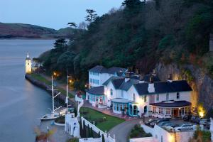 The Portmeirion Hotel and Castell Deudraeth
