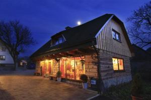Penzion a drevenica pri Hati, Vendégházak  Terhely - big - 29