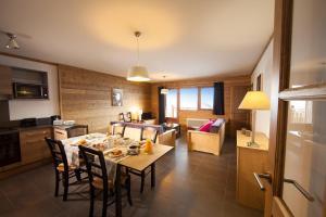 Les Chalets du Soleil Contemporains, Apartmánové hotely  Les Menuires - big - 4