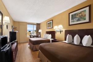 Doppelzimmer mit 2 Doppelbetten - Raucher