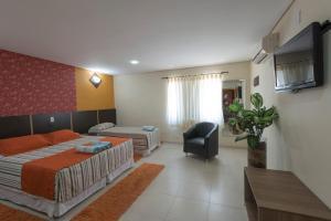 Monte Serrat Hotel, Hotel  Santos - big - 44