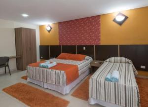 Monte Serrat Hotel, Hotel  Santos - big - 45