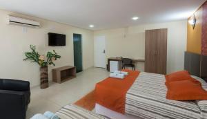 Monte Serrat Hotel, Hotel  Santos - big - 2