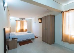 Monte Serrat Hotel, Hotel  Santos - big - 10