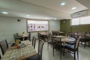 Monte Serrat Hotel, Hotel  Santos - big - 56