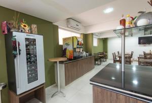 Monte Serrat Hotel, Hotel  Santos - big - 57