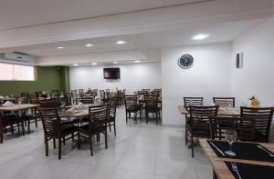 Monte Serrat Hotel, Hotel  Santos - big - 58